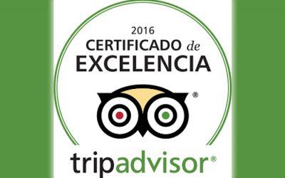 La Mira de Gredos – Certificado de Excelencia de Tripadvisor