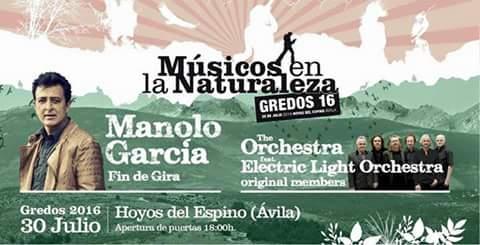 Manolo García y la ELO en «Músicos en la Naturaleza»