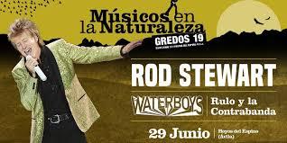 Rod Stewart será cabeza de cartel  Músicos en la Naturaleza 2019
