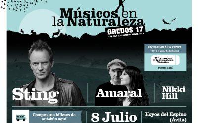 Cartel 2017 «Músicos en la Naturaleza»